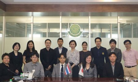 Agenda for collaborative meeting between  Faculty of Economics, Kyoto University  and  Faculty of Economics, Kasetsart University