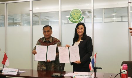MOA Signing Ceremony and Seminar between Faculty of Economics, Kasetsart University and Faculty of Economics and Business, Pasundan University